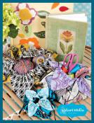 Petal Pouches sewing pattern card from Valori Wells Designs