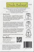 Dude Babies sewing pattern from Vanilla House Designs 2