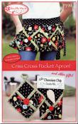 Criss Cross Pocket Apron sewing pattern from Vanilla House Designs