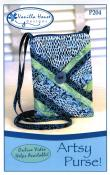 Artsy Purse sewing pattern from Vanilla House Designs