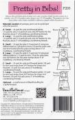 Pretty in Bibs sewing pattern from Vanilla House Designs 2