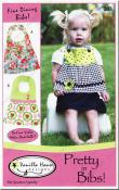 Pretty in Bibs sewing pattern from Vanilla House Designs