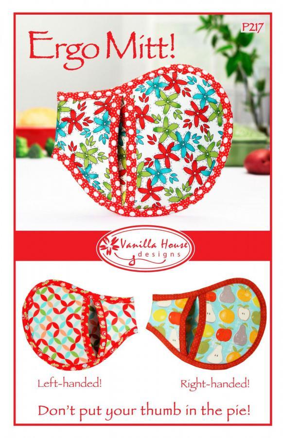 The Ergo Mitt sewing pattern from Vanilla House Designs