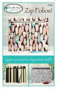 Zip Folios! sewing pattern from Vanilla House Designs