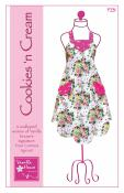 Cookies N Cream apron sewing pattern from Vanilla House Designs