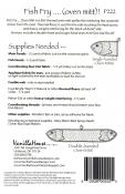 Fish Fry sewing pattern from Vanilla House Designs 1