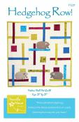 Hedgehog Row quilt sewing pattern from Vanilla House Designs