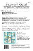 Savannah's Grace quilt sewing pattern from Vanilla House Designs 1