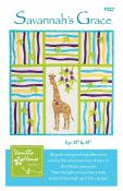 Savannah's Grace quilt sewing pattern from Vanilla House Designs
