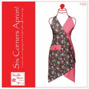 Six Corners Apron sewing pattern from Vanilla House Designs