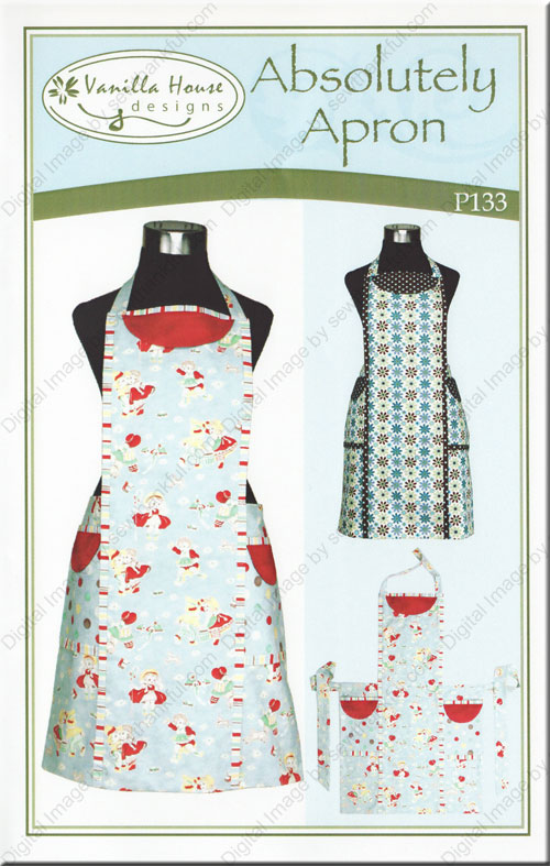 Absolutely Apron Sewing Pattern From Vanilla House Designs