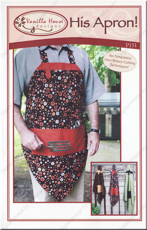 His Apron Sewing Pattern From Vanilla House Designs