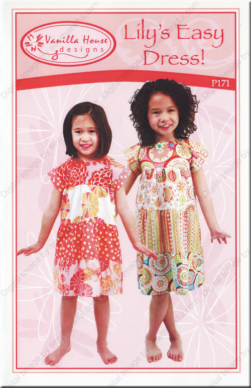 Lily S Easy Dress Sewing Pattern From Vanilla House Designs