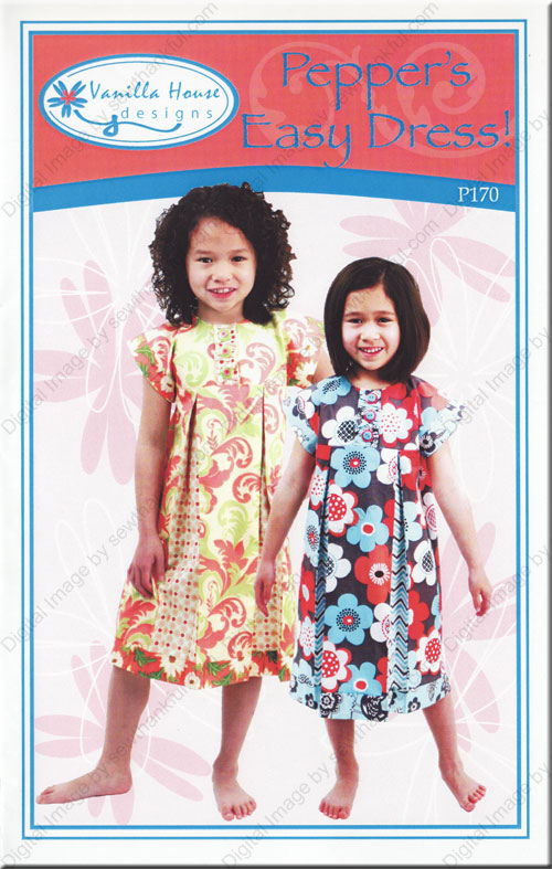 Pepper's Easy Dress Sewing Pattern From Vanilla House Designs Extraordinary Easy Dress Sewing Patterns