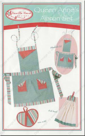 Free Sewing Pattern: Basic Child's Apron + Variations - Media