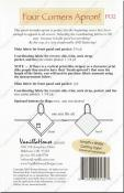 Four Corners Apron sewing pattern from Vanilla House Designs 2