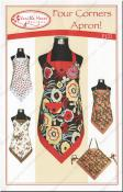 Four Corners Apron sewing pattern from Vanilla House Designs