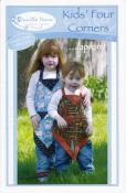 Kid's Four Corners Apron sewing pattern from Vanilla House Designs