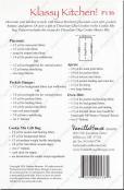 Klassy Kitchen sewing pattern from Vanilla House Designs 2