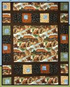 Out West quilt sewing pattern from Villa Rosa Designs 1