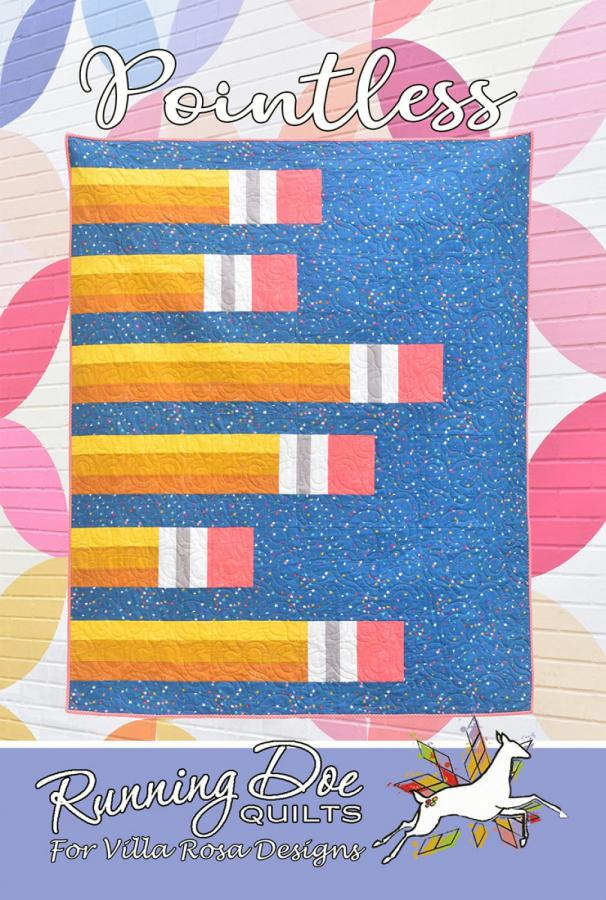 Pointless quilt sewing pattern from Villa Rosa Designs