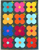 May Flowers quilt sewing pattern from Villa Rosa Designs 1
