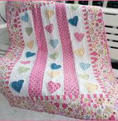 Pitter Patter quilt sewing pattern from Villa Rosa Designs 1