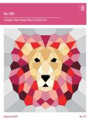 The Lion English Paper Piecing Project sewing pattern from Violet Craft