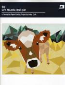 The Cow Abstractions Quilt sewing pattern from Violet Craft
