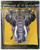 The Elephant Abstractions quilt sewing pattern from Violet Craft 2
