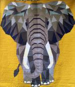 The Elephant Abstractions quilt sewing pattern from Violet Craft 3