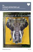 The Elephant Abstractions quilt sewing pattern from Violet Craft