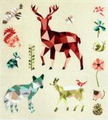 INVENTORY REDUCTION...The Forest Abstractions quilt sewing pattern from Violet Craft 2