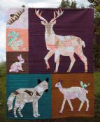 INVENTORY REDUCTION...The Forest Abstractions quilt sewing pattern from Violet Craft 3