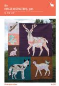 The Forest Abstractions quilt sewing pattern from Violet Craft
