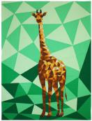 INVENTORY REDUCTION...The Giraffe Abstractions quilt sewing pattern from Violet Craft 2