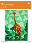The Giraffe Abstractions quilt sewing pattern from Violet Craft
