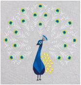 The Peacock Abstractions quilt sewing pattern from Violet Craft 2