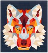 The Wolf Abstractions quilt sewing pattern from Violet Craft 2