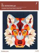 The Wolf Abstractions quilt sewing pattern from Violet Craft