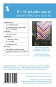INVENTORY REDUCTION...The Baby Herringbone quilt sewing pattern from Violet Craft 1