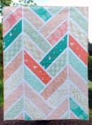 INVENTORY REDUCTION...The Broken Herringbone Quilt sewing pattern from Violet Craft 2