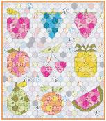 INVENTORY REDUCTION...The Fruit Basket quilt sewing pattern from Violet Craft 2