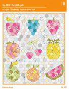 The Fruit Basket quilt sewing pattern from Violet Craft