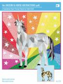 The Unicorn and Horse Abstractions Quilt sewing pattern from Violet Craft