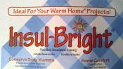 Insul-Bright Insulated Lining from The Warm Company - 1 yard continuous cut yardage