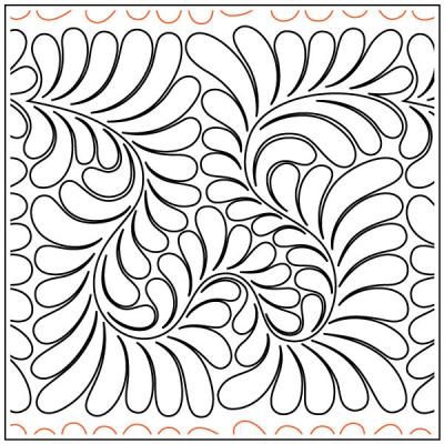 Andis-Wandering-Feathers-quilting-pantograph-pattern-Andi-Rudebusch