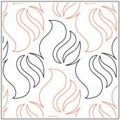 Bonfire-quilting-pantograph-pattern-Andi-Rudebusch