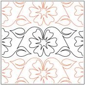 Flower-Vine-quilting-pantograph-pattern-Andi-Rudebusch