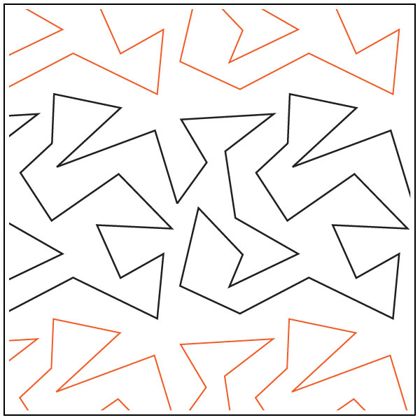 ZigZag-quilting-pantograph-pattern-Apricot-Moon-Designs